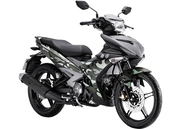 Yamaha Exciter 150 Camo có giá 45,5 triệu A4