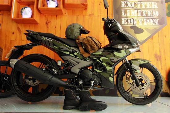 Thời trang Exciter Camo 150 A3