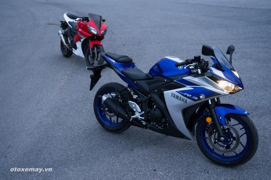thử nghiệm tốc độ Yamaha R3 A3