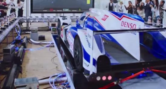 xe đua Toyota TS040