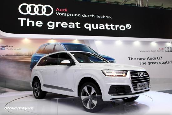 Audi Q3 và Q7 mới tại Việt Nam A3
