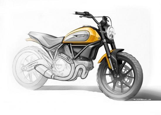 Ducati scrambler 400 A1