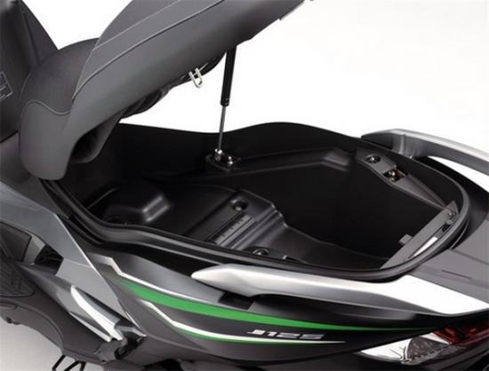 Kawasaki ra mắt xe ga 125 cc A1