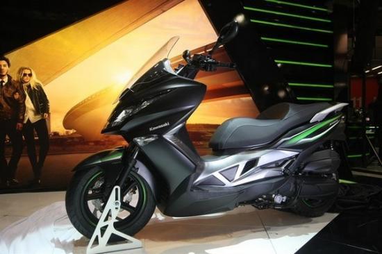 Kawasaki ra mắt xe ga 125 cc A2