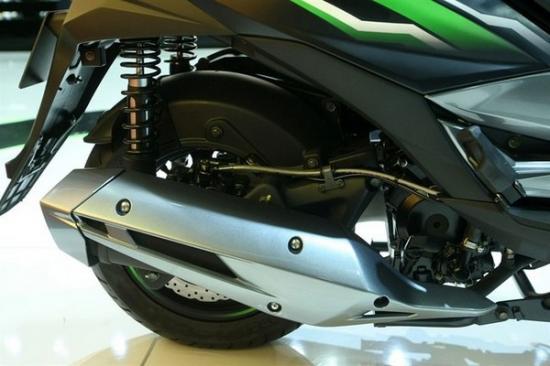 Kawasaki ra mắt xe ga 125 cc A7