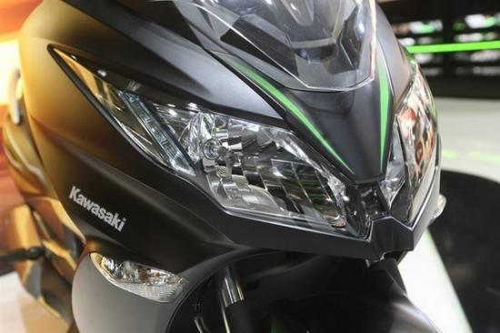 Kawasaki ra mắt xe ga 125 cc A8