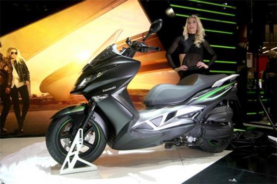 Kawasaki ra mắt xe ga 125 cc A9