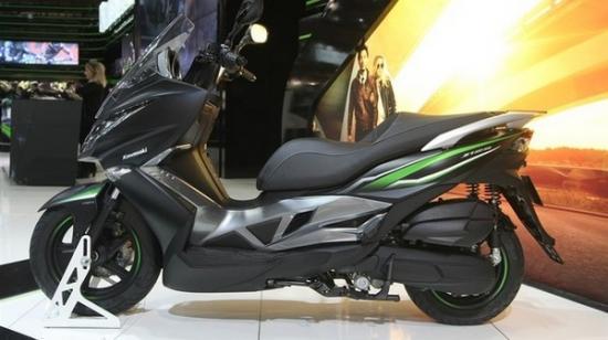 Kawasaki ra mắt xe ga 125 cc A10
