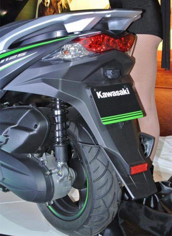 Kawasaki ra mắt xe ga 125 cc A11