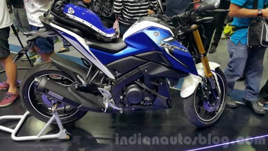 Yamaha M-Slaz tại thị trường Thái Lan A4