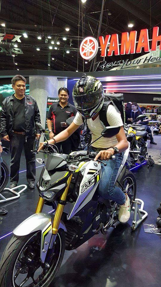 Yamaha M-Slaz tại thị trường Thái Lan A9