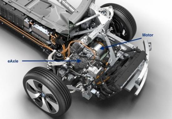 hộp số BMW i8  A1