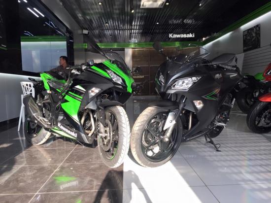 Kawasaki Ninja 300 ABS 2016 giá 149 triệu đồng