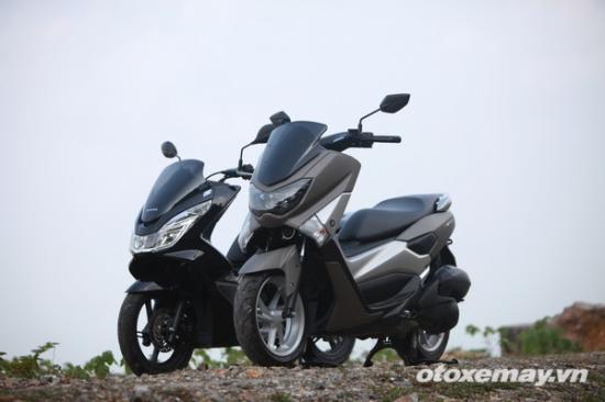 Honda PXC và Yamaha NM-X A7