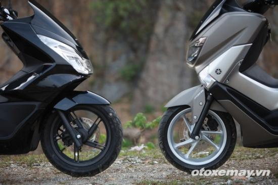 Honda PXC và Yamaha NM-X A8