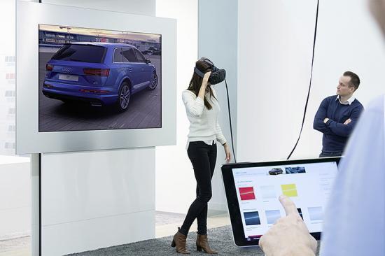 giải pháp nội thất xe tương lai A4