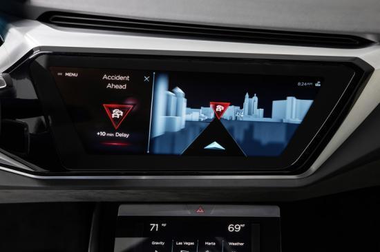 giải pháp nội thất xe tương lai A6