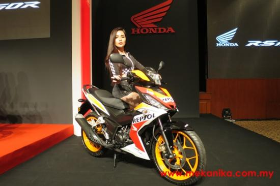 Honda Winner 150 phiên bản tem Repsol Racing2