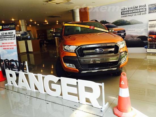 Ranger Mới vừa ra mắt đại lý Hanoi Ford _anh 1