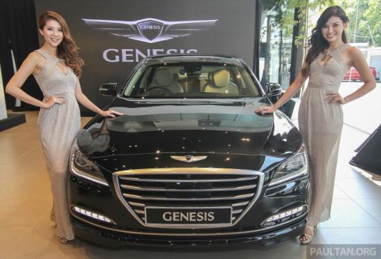 Hyundai Genesis thế hệ mới ra mắt tại Malaysia a1