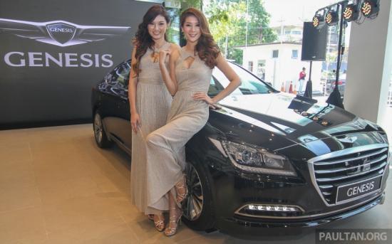 Hyundai Genesis thế hệ mới ra mắt tại Malaysia a13