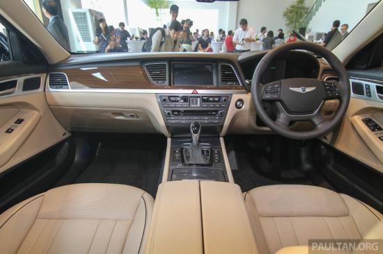 Hyundai Genesis thế hệ mới ra mắt tại Malaysia a7