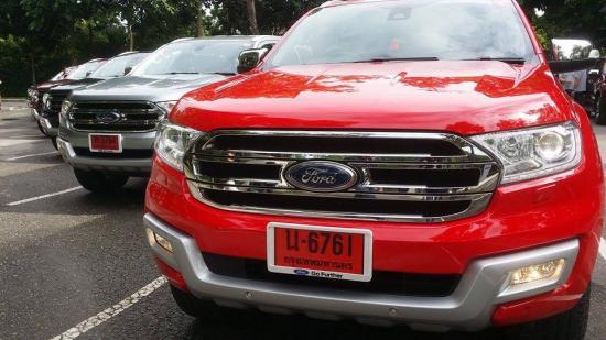 Buổi lễ ra mắt và lái thử Ford Everest 2015 tại Thái Lan_ảnh 3