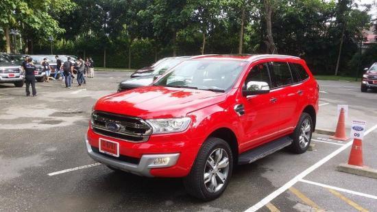 Buổi lễ ra mắt và lái thử Ford Everest 2015 tại Thái Lan_ảnh 2