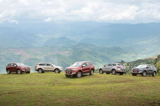 Chuyến trải nghiệm đầu tiên của chiếc Ford Everest 2015 tại Thái Lan 15