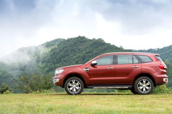 Chuyến trải nghiệm đầu tiên của chiếc Ford Everest 2015 tại Thái Lan 14