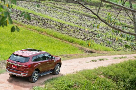 Chuyến trải nghiệm đầu tiên của chiếc Ford Everest 2015 tại Thái Lan 13