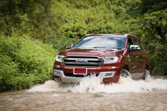 Chuyến trải nghiệm đầu tiên của chiếc Ford Everest 2015 tại Thái Lan 11