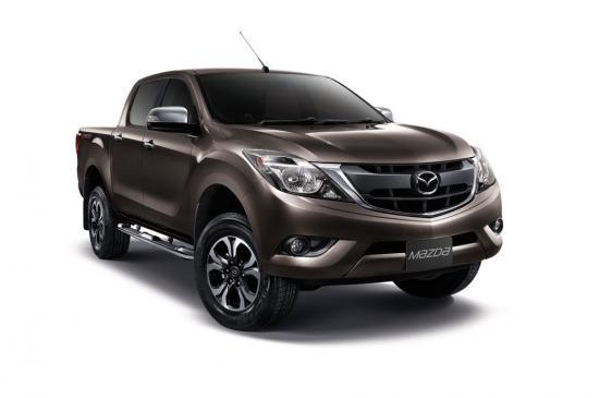 Mazda BT50 pro 2015 được nâng cấp nội/ngoại thất