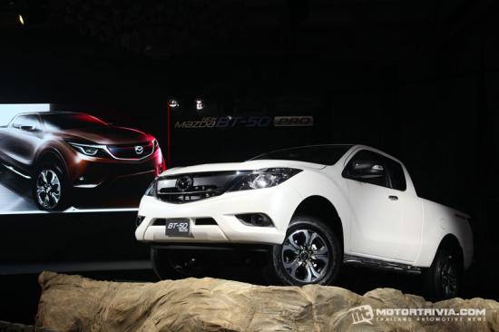 Mazda BT50 pro 2015 được nâng cấp nội/ngoại thất 3