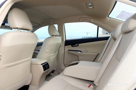Trải nghiệm Toyota Camry 2015 21