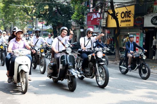 Distinguished Gentleman's Ride lần đầu tại Hà Nội_ảnh21