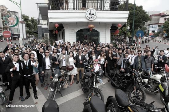 Distinguished Gentleman's Ride lần đầu tại Hà Nội_ảnh1