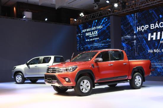 Toyota Hilux hoàn toàn mới_ảnh1