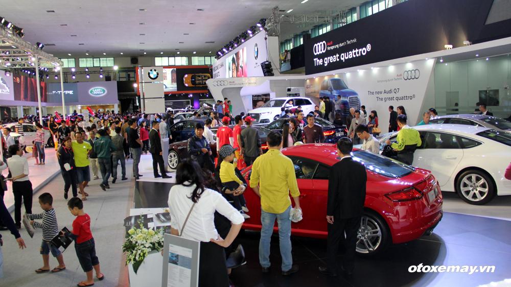 VIMS 2015: Ngày đầu triển lãm: 20.000 lượt khách, trên 60 xe bán_ảnh5