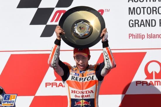 Đây cũng là chiến thắng thứ 5 trong mùa giải của Marquez 3