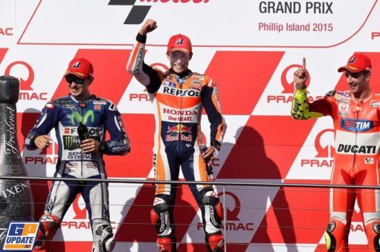 Đây cũng là chiến thắng thứ 5 trong mùa giải của Marquez 2