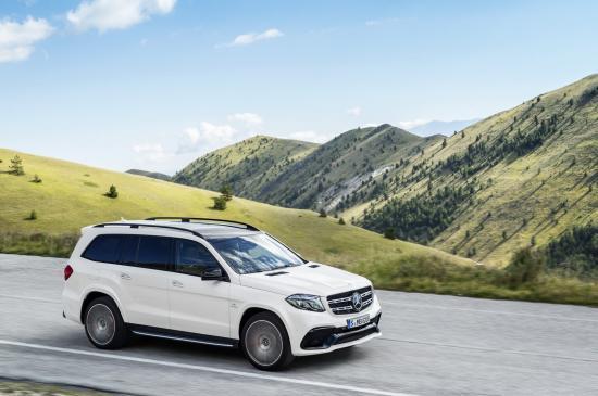 Mercedes-Benz GLS thực hiện một số thay đổi về thiết kế 25