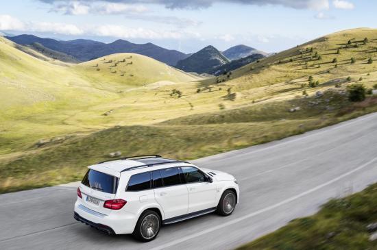 Mercedes-Benz GLS thực hiện một số thay đổi về thiết kế 20