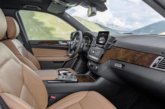 Mercedes-Benz GLS t 18hực hiện một số thay đổi về thiết kế