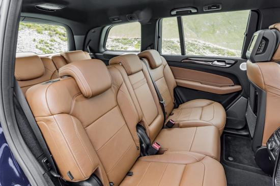 Mercedes-Benz GLS thực hiện một số thay đổi về thiết kế 16