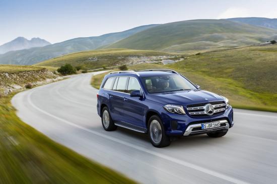 Mercedes-Benz GLS thực hiện một số thay đổi về thiết kế 15