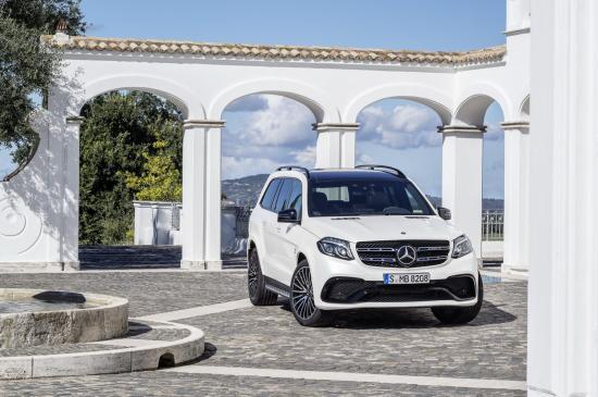Mercedes-Benz GLS thực hiện một số thay đổi về thiết kế 24