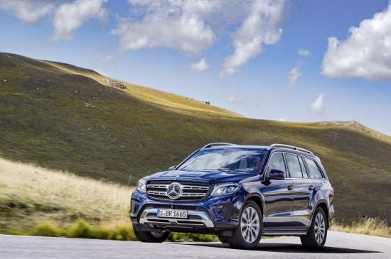 Mercedes-Benz GLS thực hiện một số thay đổi về thiết kế 12