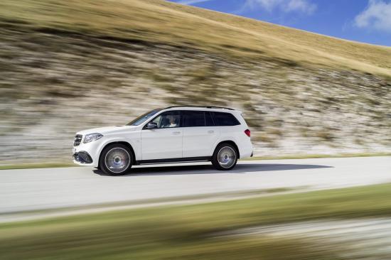 Mercedes-Benz GLS thực hiện một số thay đổi về thiết kế 8