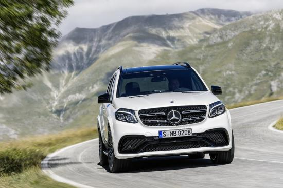 Mercedes-Benz GLS thực hiện một số thay đổi về thiết kế 7